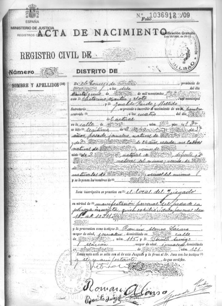 Hermosa Fin De Idaho Nacimiento De Certificados En Línea Ilustración ...